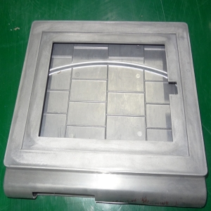 Aluminum die casting shell mold making