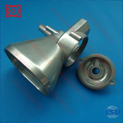 Custom aluminum spare coffee machine parts